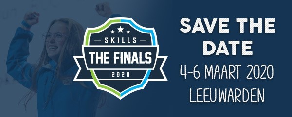 Save The Date voor Skills The Finals 2020!